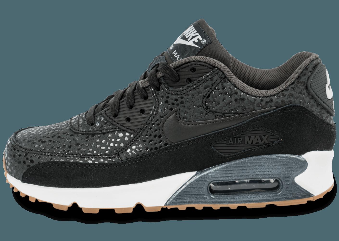 check out a0f53 cbb46 air max 90 premium noir, Cliquez pour zoomer Chaussures Nike Air Max 90  Premium Safari
