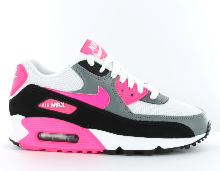 nike air max rose et blanche pas cher