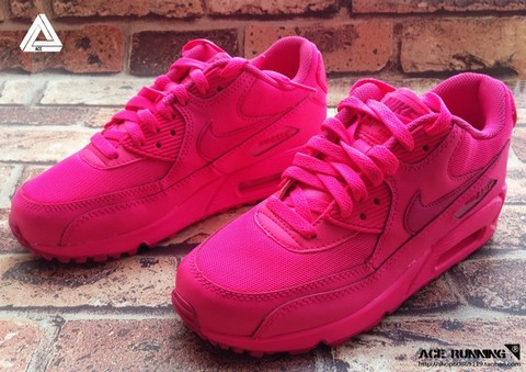 air max 90 rose fluo