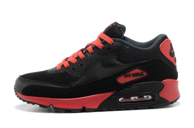 bff68e9a00a air max 90 rouge et noir pas cher