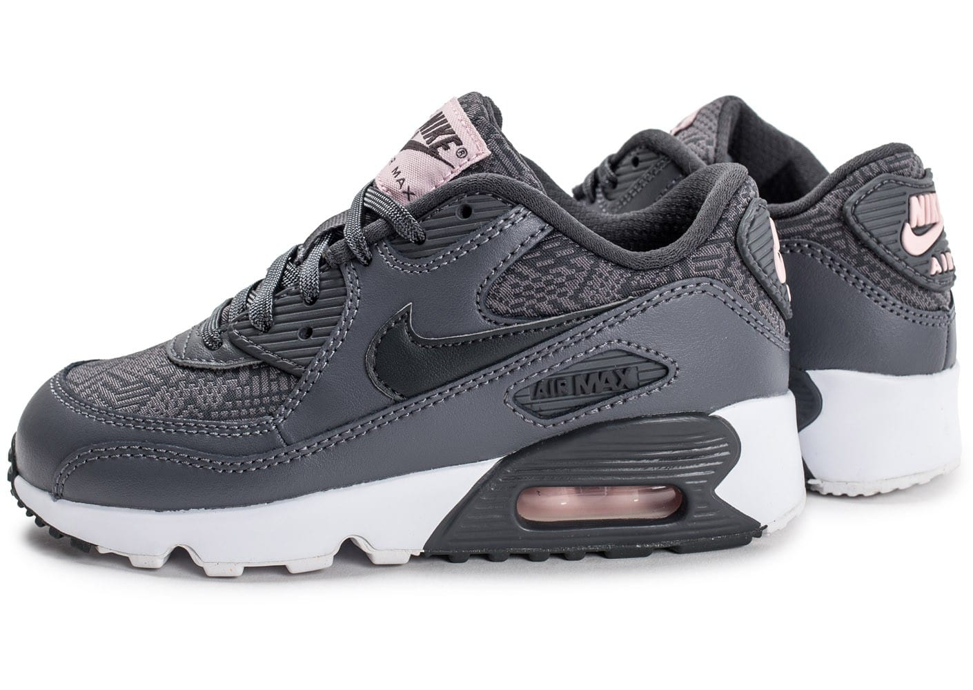 air max enfants 27, Chaussures Nike Air Max 90 SE Mesh Enfant anthracite