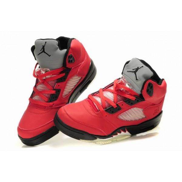 2ff02fd5efa2 basket jordan rouge enfant