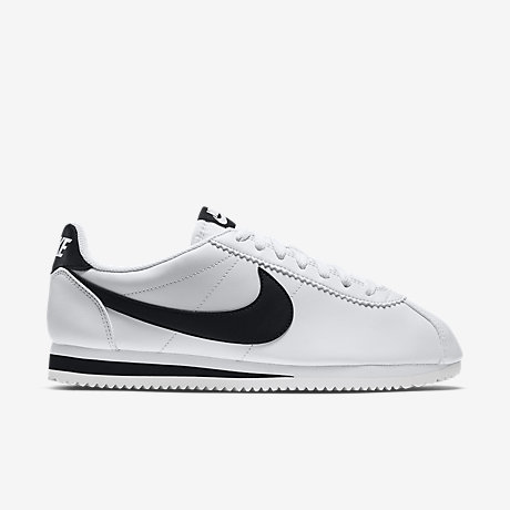 3a1b659c315c27 chaussure femme nike cortez blanche, Femme Chaussures Nike Classic Cortez  Leather Blanc Noir S38388