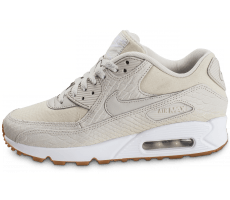 100% authentic f49e4 9d632 chaussures nike air max 90 femme, Chaussures Nike Air Max 90 Premium Light  Bone