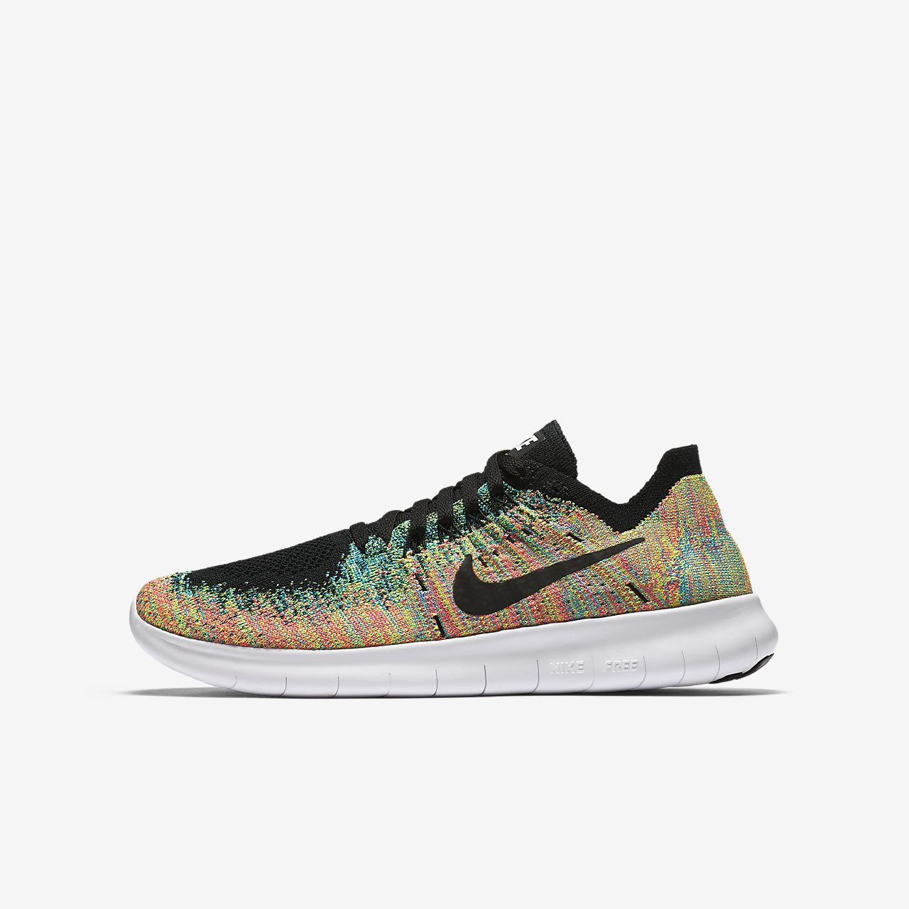 chaussures nike free flyknit rn, ... Chaussure de running Nike Free RN Flyknit 2017 pour Enfant plus âgé