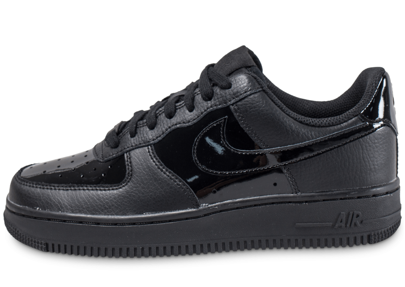 Chaussures Nike Air Force 1 noires femme nOt0q
