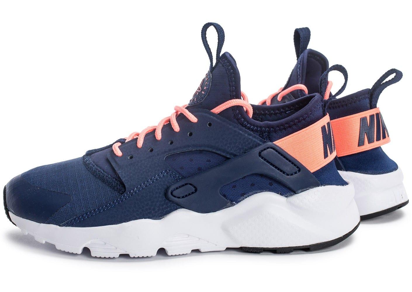 lowest price 795db 33405 nike air huarache bleu et rose, Cliquez pour zoomer Chaussures Nike Air  Huarache Run Ultra