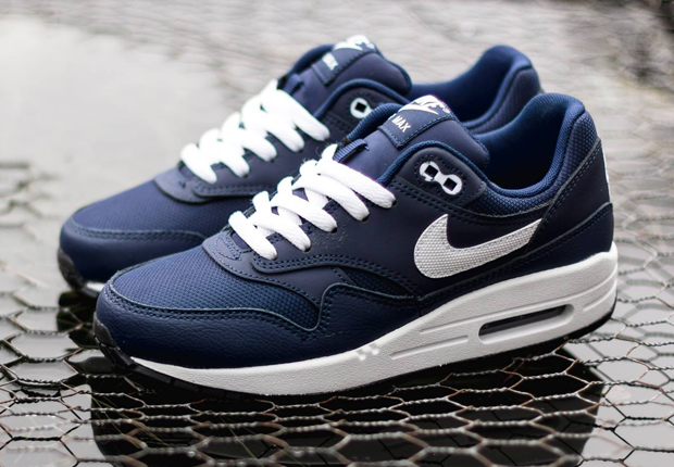 nike air max 1 blue navy,