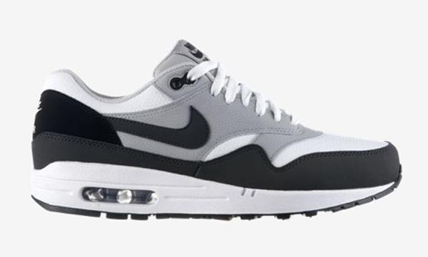 84badeb990ee nike air max 1 noir blanc gris