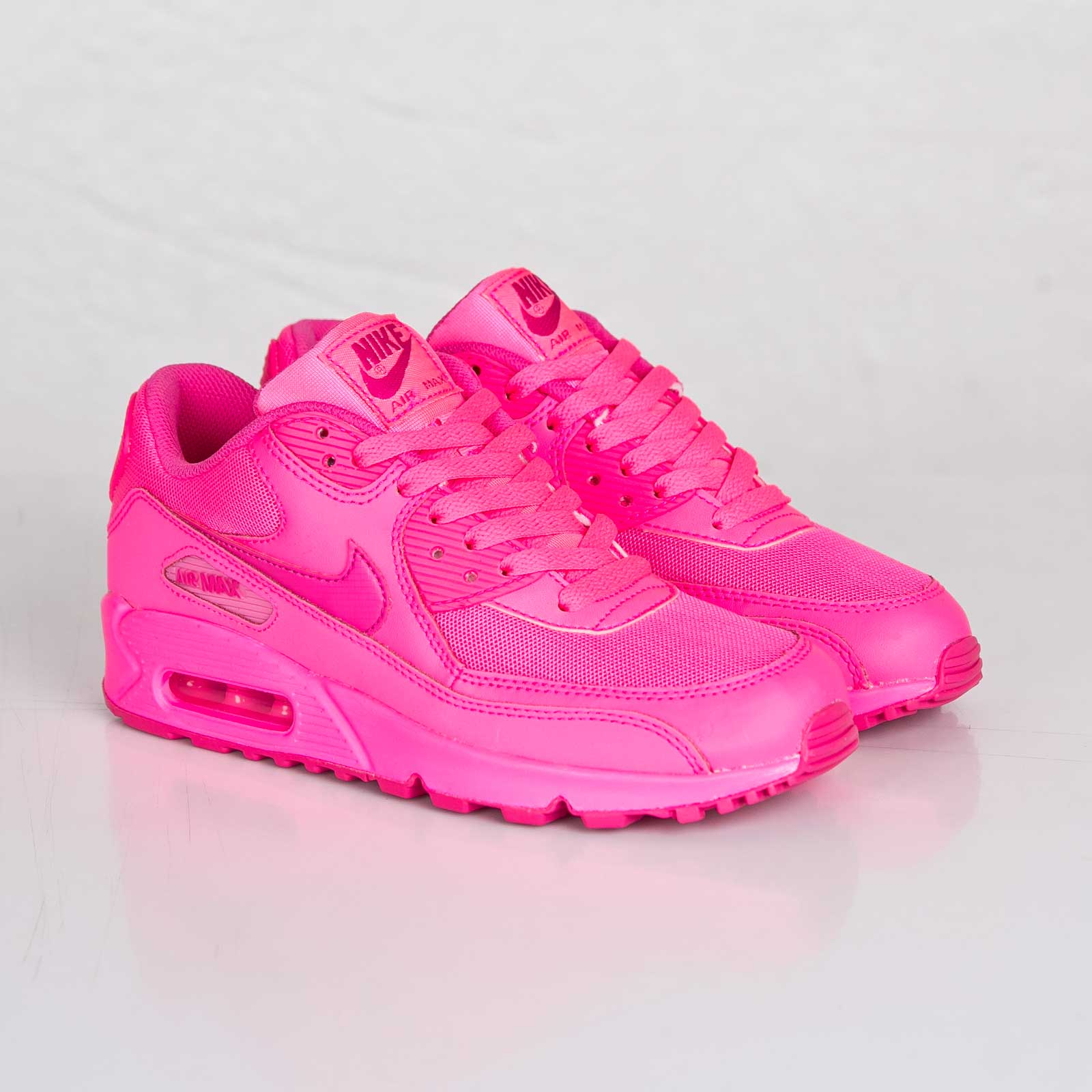 buy popular b6798 c2913 nike air max 90 2007 gs femme rose