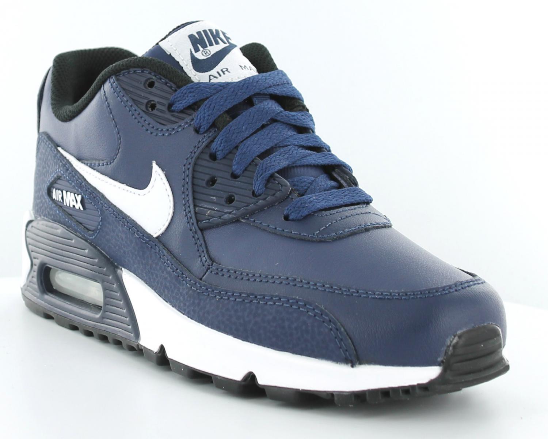 the latest a6929 b71e8 nike air max 90 bleu marine femme, Nike Air Max 90 LE gs BLEU