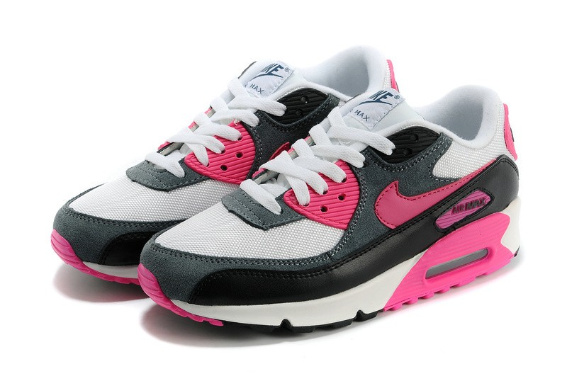 nike air max 90 essential blanche rose, Soldes vous pouvez profiter de cette Nike Air Max 90 Essential Femme Blanche Rose Foil Noir