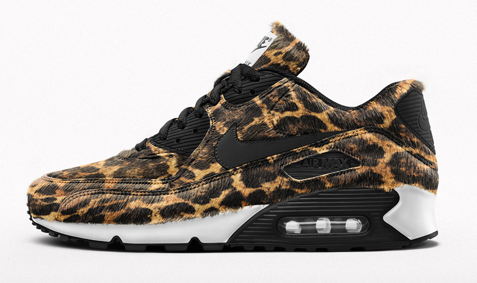 nike air max 90 leopard id studio bespoke animal beast videos