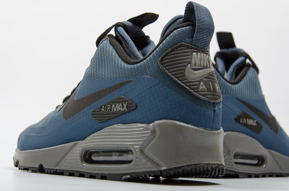 designer fashion 4bfbd 39918 ... authentic nike air max 90 mid winter bleu dee26 ac1ce