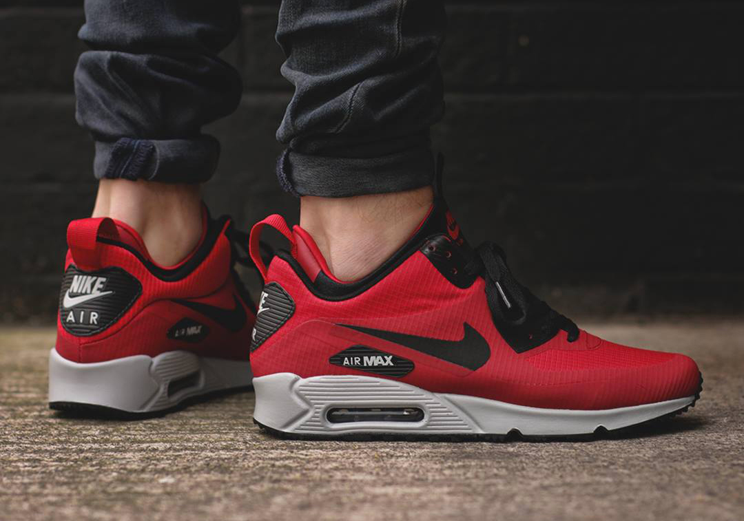 nike air max 90 mid winter rouge,