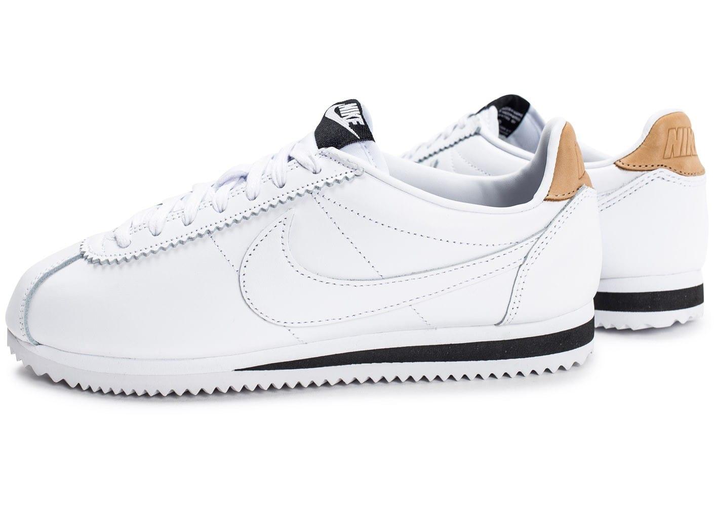 reputable site 2349c 5ca0f nike cortez leather homme, Cliquez pour zoomer Chaussures Nike Cortez  Leather Se blanche vue extérieure