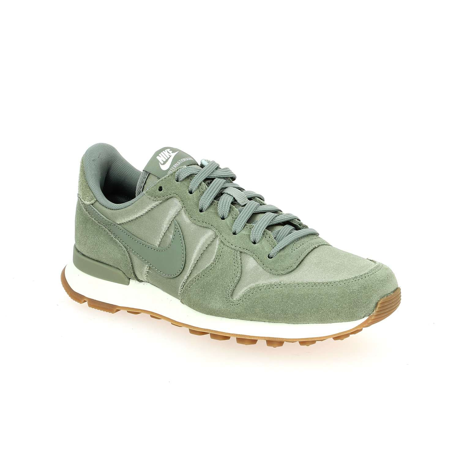 nike internationaliste femme vert