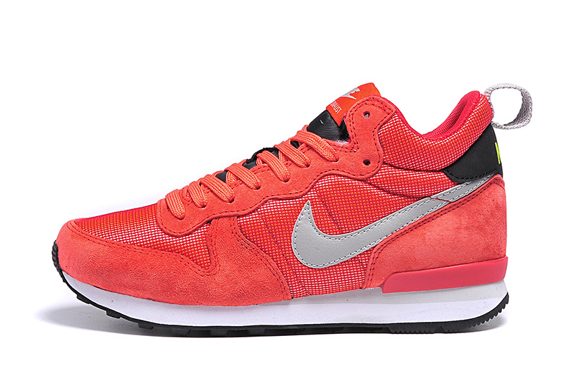 nike internationalist mid femme rouge, Grande Vente Nike Internationalist Mid Dark Rouge Bright Crimson Dust/Femme Trainer